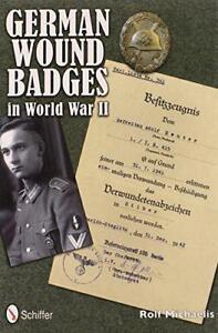 Aleman-Herida-INSIGNIAS-en-la-World-War-II-de-Michaelis-ROLF-LIBRO-TAPA-DURA