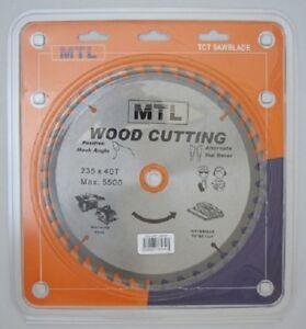 235mm-dia-x-40T-x-30mm-bore-MTL-brand-TCT-Circular-Saw-Blade-for-Wood-cutting