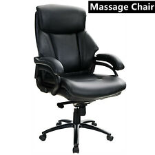 Executive Office Chair Ergonomic High Back Rocking Chair Leather Massage Chairs