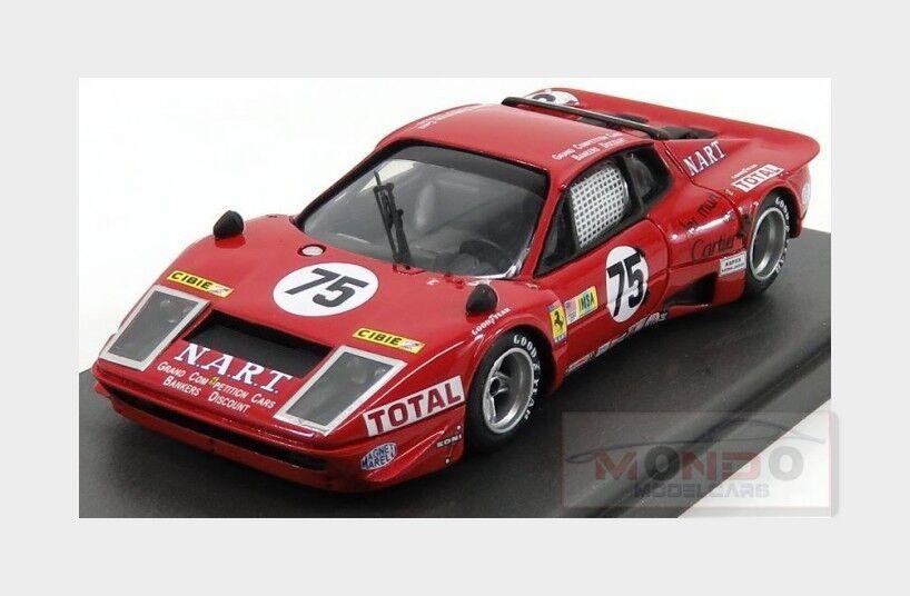 Ferrari 365 Gtb 4Bb Ch.18095 N.A.R.T. Le Mans 1977 MG MODEL 1 43 BB43007 Mod
