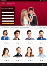 DATING SERVICE WEBSITE BUSINESS FOR SALE! RESPONSIVE MOBILE FRIENDLY WEBSITE