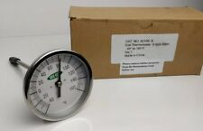 "Vee Gee Scientific 82160-6 Dial Soil Thermometer 3/"" Di 6/"" Stainless Steel Stem"