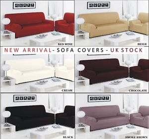 Sofa Slip Over Stretch Cover Settee Arm Chair 1 2 3 Seater Pet
