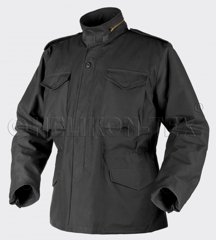 HELIKON tex us m65 chaqueta Army Field Parka Jacket negro negro W Liner Mr Medium