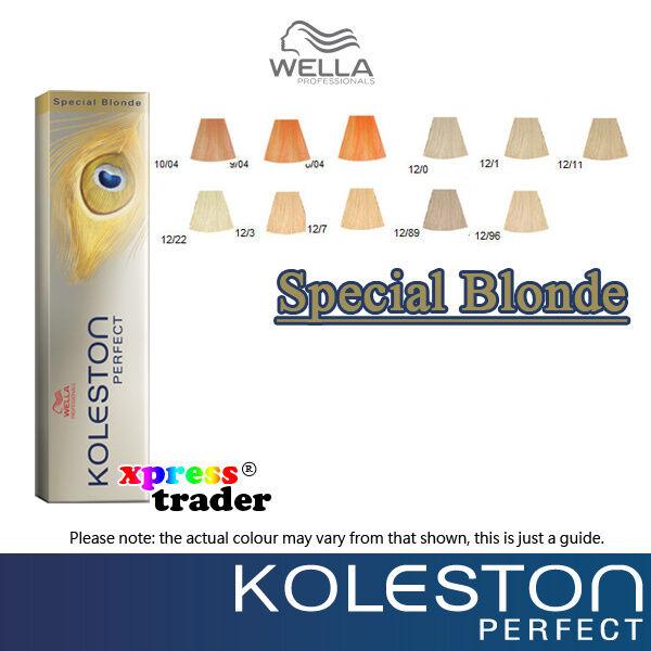 Wella Koleston Perfect Permanent Hair Color Dye 60g - Special Blonde Series