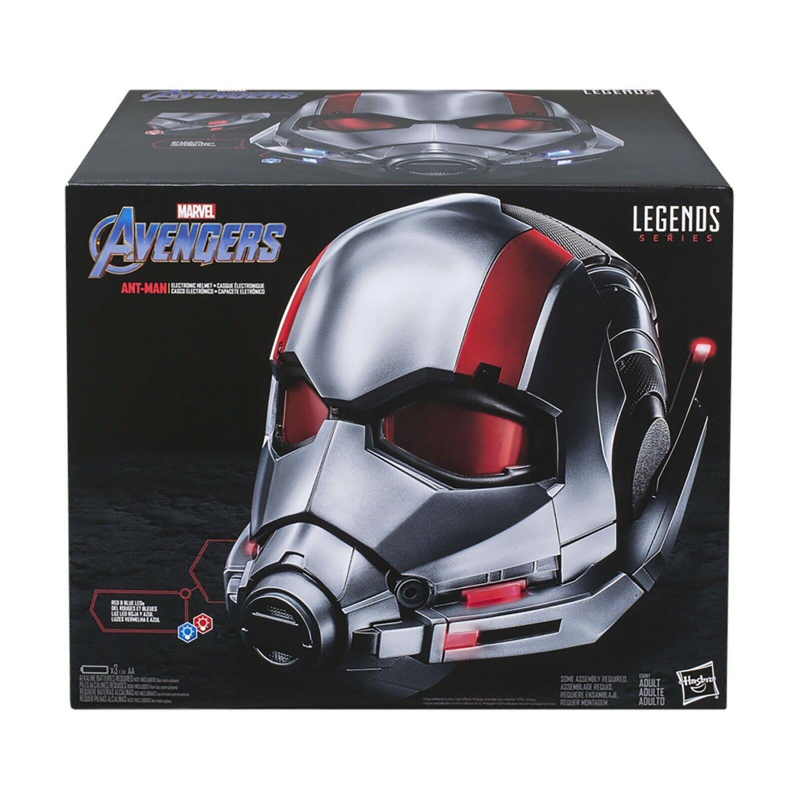 Marvel Legends 1 1 Scale ANT-MAN Premium Electronic Prop Replica Helmet Cosplay