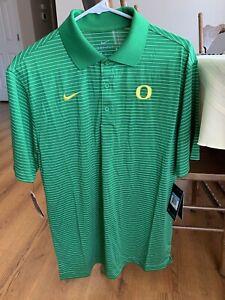 Oregon-Ducks-Nike-Men-s-Polo-Size-Medium-M-Brand-New-With-Tags-Football-NCAA