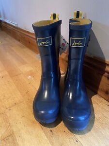 Joules-Molly-Mid-Height-Wellies-Navy-Marked-Size-5-2277