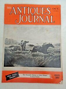 Antiques-Journal-1952-Toby-Philpot-Mystic-Seaport-1890-039-s-Majolica-China-Dolls