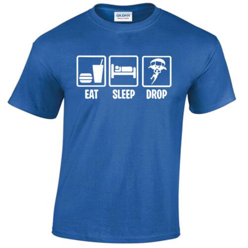 Kids Boys Girls Eat Sleep DROP T-Shirt Game Inspired Top
