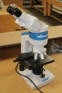 Reichert Jung one fifty 150   laboratory microscope LOADED EXCELLENT