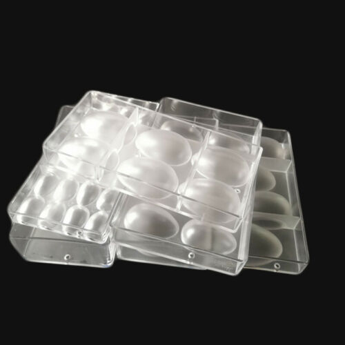 Smooth Big Easter Egg Mold Polycarbonate Ostrich Eggs Chocolate Mold Candy Mould