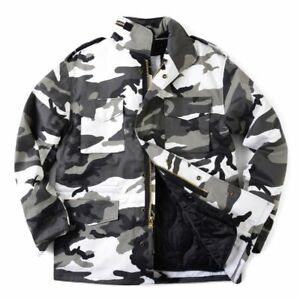 f7070832e6daa ROTHCO 8994 URBAN CITY CAMO MENS M65 FIELD JACKET WITH QUILTED LINER ...