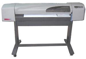 hp designjet 500 42 a1 a0 cad plotter ebay. Black Bedroom Furniture Sets. Home Design Ideas