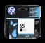 HP-Genuine-65-Black-Color-Ink-Cartridge-In-Bag-Deskjet-2622-2652-2655-3720 thumbnail 2