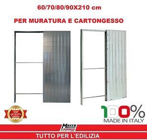CONTROTELAIO GUSCIO SCOMPARSA PORTA SCORREVOLE TELAIO 60/70/80 ...