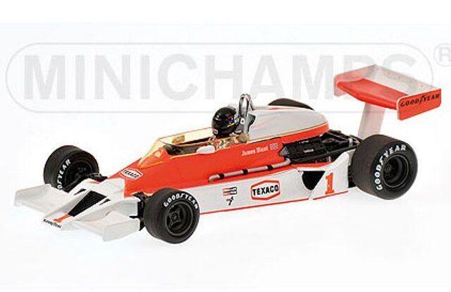 MINICHAMPS 530 774301 McLaren Ford M26  F1 Diecast voiture james Hunt 1977 1 43rd  pas cher en ligne
