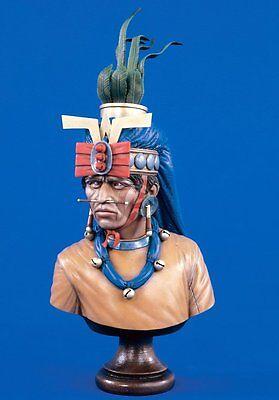 Verlinden 1/5 Zapotec Warlord Bust [Resin Figure Model kit] 1581
