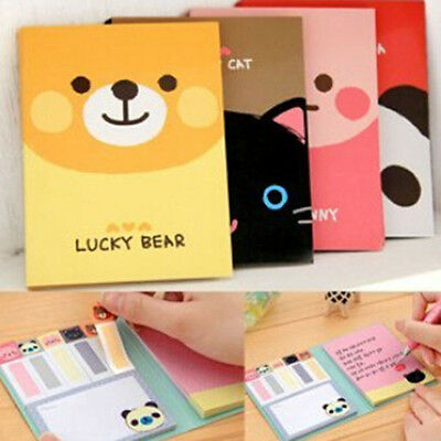Lovely Cute Cartoon Post-It Note Bookmarker Sticky Notes Memo Note office school