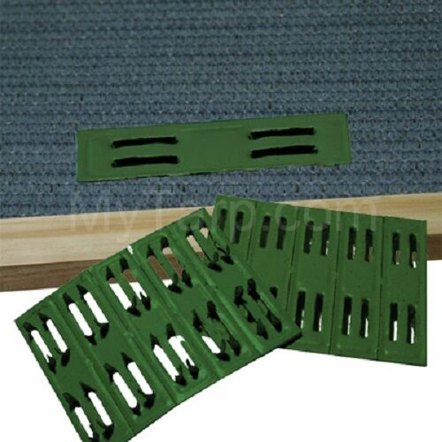 COOLAROO GREEN TIMBER FASTENERS (50 PIECES) - MESH FASTENERS - Free Shipping