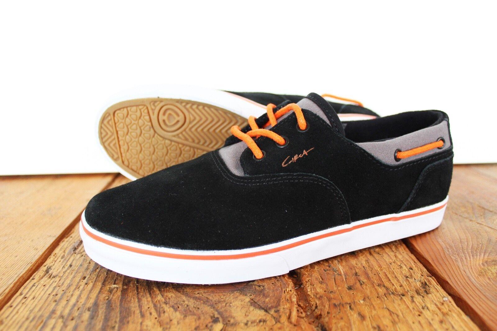 CIRCA FOOTWEAR VALEO SHOE NEU BLACK GR US 7 EUR 39 CIRCA