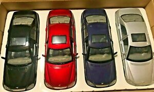 Motormax-1-24-Scale-2002-MERCEDES-BENZ-S500-Diecast-Model-car-Red-Silver-or-BLK