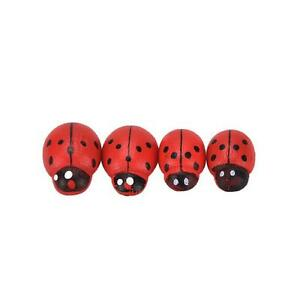 10x Hanging Decorative Ladybirds Garden Wall Ornament Home Outdoor  Nice