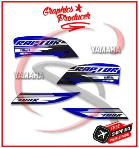 Yamaha Raptor 700 Decals Graphics 700R Stickers Fits 2019 Model Blue
