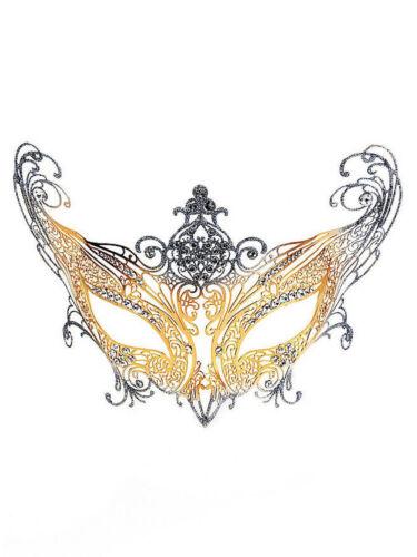 "COLOMBINA /""contessa/"" veneziane metallo maschera CARNEVALE VENEZIA"