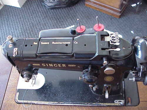 SINGER 319k Vintage Sewing Machine Manual MACHINE IS OBVIOUSLY NOT ...