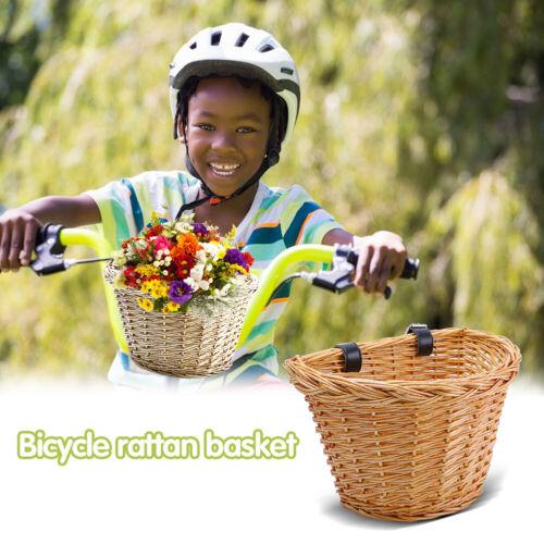 Fahrradkorb für Kinder S SL# Fahrradkorb mit Lenker aus Korbgeflecht