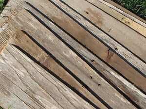 Details about ON SALE! Reclaimed Old Fence Wood Boards- 10 Boards 20
