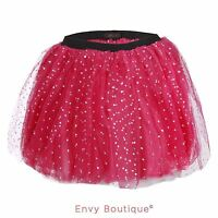 Ladies Womens Diamante Tutu Skirt Skirts Dress Up Fancy Dress Party Hen Party