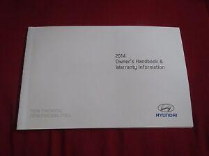 2014 Hyundai Elantra Warranty >> Details About 2014 Hyundai Elantra Accent Tiburon Sonata Warranty Information Owners Manual