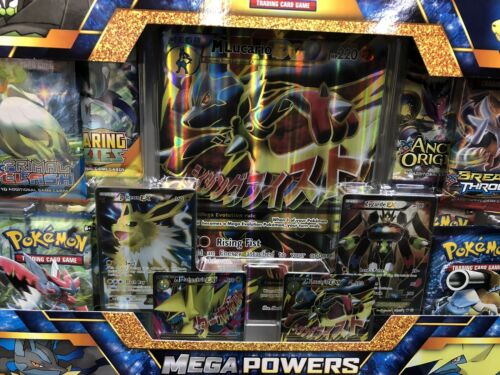 Pokemon Mega Powers Ex Premium Collection Box Trading Cards .~Brand New Box.~