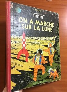 Tintin On A Marche Sur La Lune 1956 Early Belgian Edition EO Herge first - <span itemprop=availableAtOrFrom>Wirral, Merseyside, United Kingdom</span> - Returns accepted Most purchases from business sellers are protected by the Consumer Contract Regulations 2013 which give you the right to cancel the purchase within 14 days aft - Wirral, Merseyside, United Kingdom