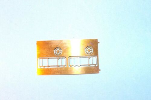 N SCALE ETCHED BRASS UTILITY ENDRAILS  PEB-14