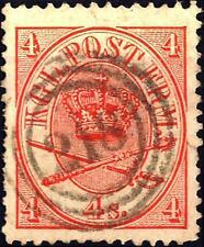 DENMARK - DANIMARCA - 1864/65 - Stemma in doppio ovale