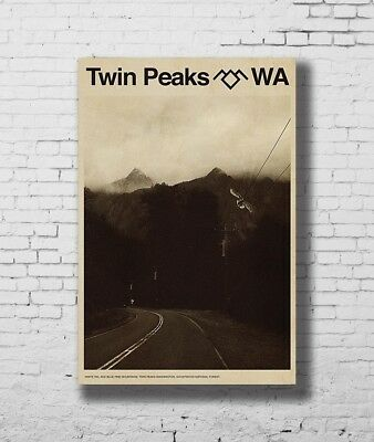 Hot Twin Peaks New US 2017 Movie Vintage New Print Poster 12x18 24x36 27x40 P821