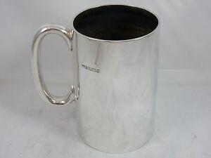 FINE-solid-silver-PINT-TANKARD-1924-322gm
