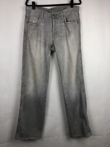 Citizens-of-Humanity-Gray-Low-Rise-Ava-Straight-Leg-Jeans-Women-s-Size-32