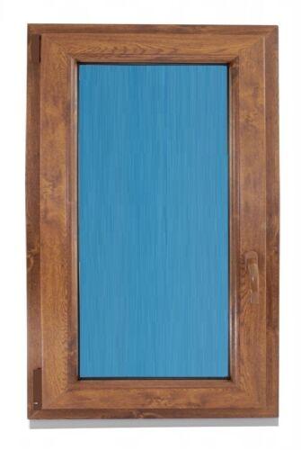 Ventana PVC 800x1000 Oscilobatiente Izquierda color Madera  Vidrio Climalit