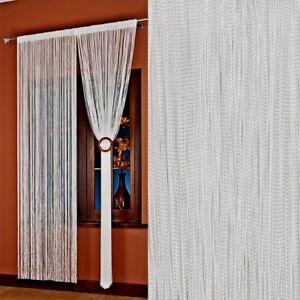 Tende A Filo Effetto Parete.Tenda A Fili Vari Color Finestre Porte Casa Esterno Arredo 150x300 Ebay