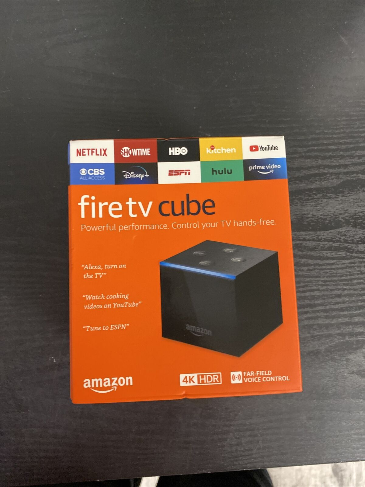 NEW Amazon Fire TV Cube Hands-Free with Alexa and 4K HDR Streaming Media Player alexa amazon and cube fire hdr media new streaming with