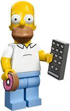 Lego 71005 Minifigures serie Simpson Homer Simpson con Ciambella e Telecomando
