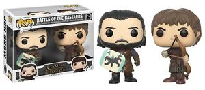 Funko-Pop-Pack-Jon-Nieve-amp-Ramsay-Bolton-Juego-de-Tronos-Game-of-Thrones