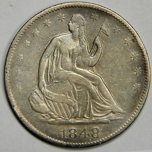 1848-O-SEATED-HALF-DOLLAR-NICE-XF-WITH-SOME-ORIGINAL-LUSTER-REDUCED