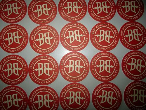 NEW 25 Breckenridge Brewery Colorado Ales Beer Bar Coasters Pint Glass mat