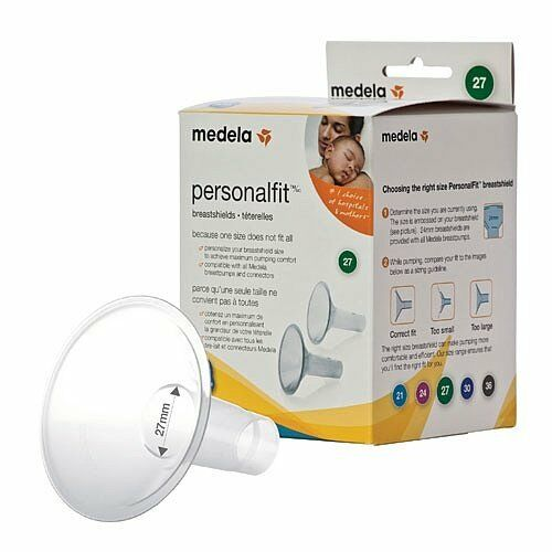 NEW Medela PersonaFfit Breastshield Breast Shield Flange Large 27mm x2 87274