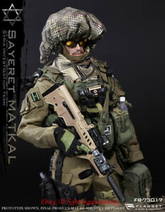 """1//6 Scale Israel Defense Forces Head Sculpt For 12/"""" Male Toys Action"""